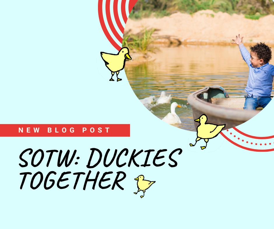SOTW: Duckies Together