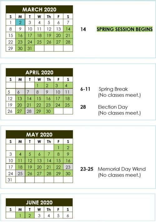 Philly Spring 20 Calendar Image