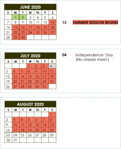 Philly Summer 20 Calendar Image