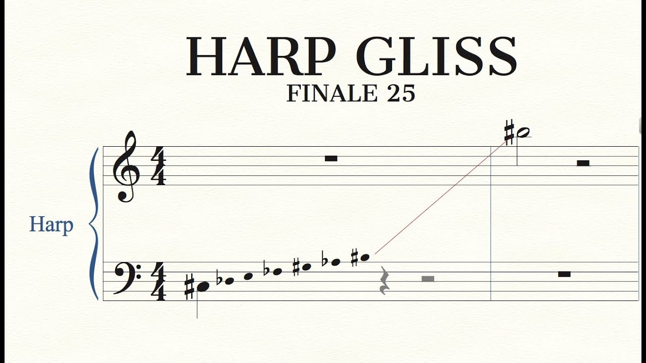 Harp Glissando