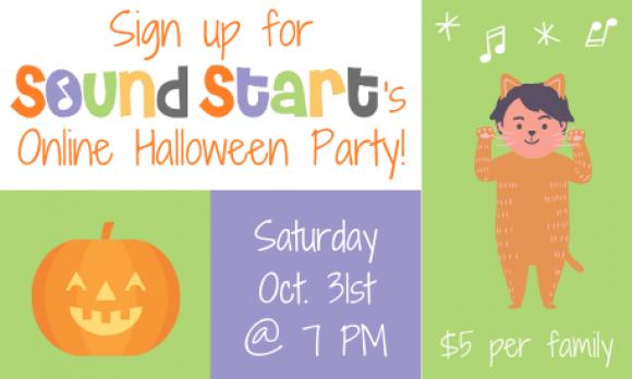 SS Halloween Party Advertisement